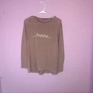 Soprano size medium happy sweater